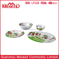 New arrival dinner plate&bowl 100 melamine dinner sets uk