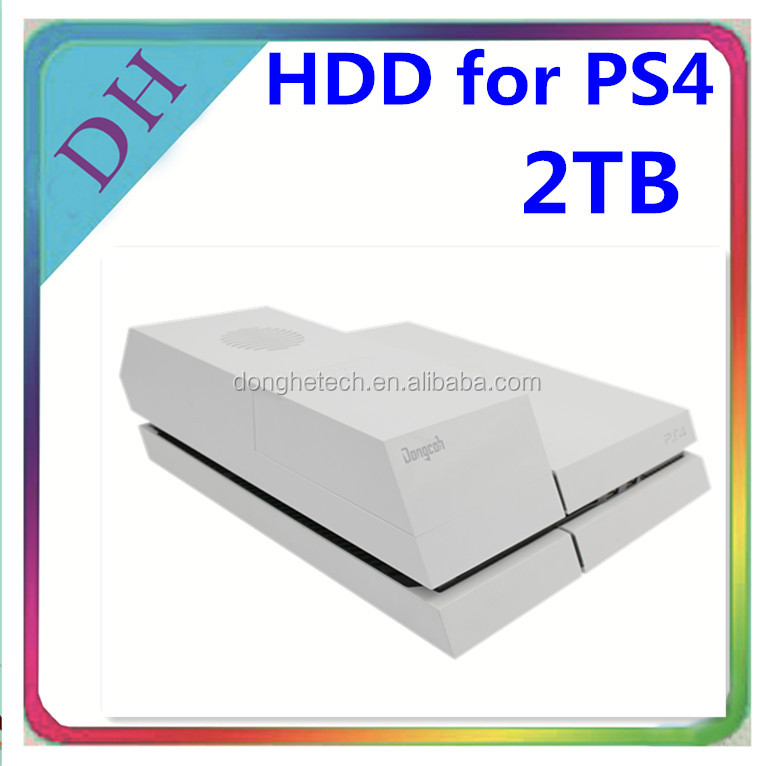 2tb for PS4 games hdd original brand hard disks for ps4 prices, 3.5'' drive with for ps4 hdd cover