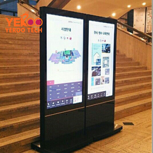 American retail shop/mall kiosk free stand 65inch large screens digital kiosk display indoor advertising video media player
