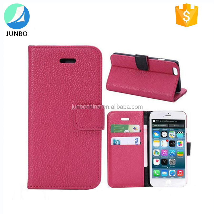 Wholesales high quality wallet leather phone case for iphone 7 cell phone case