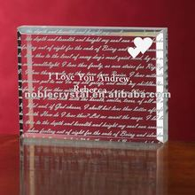 Wedding Crystal Gifts Souvenirs Keepsake