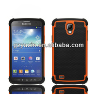 Cover case for samsung galaxy s4 active i9295,heavy duty combo case for samsung galaxy s4 active case