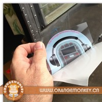 Customized Digitally Printed Waterproof UV Transparent Window Static Clings
