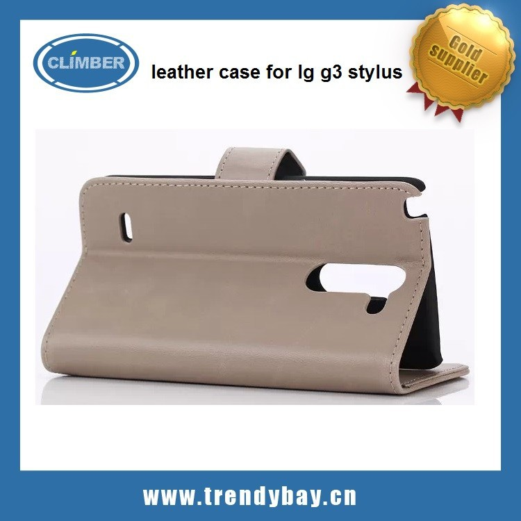 china suppliers that accept paypal with leather case for lg g3 stylus cover