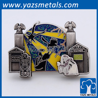 custom metal factory lapel badge pin badges