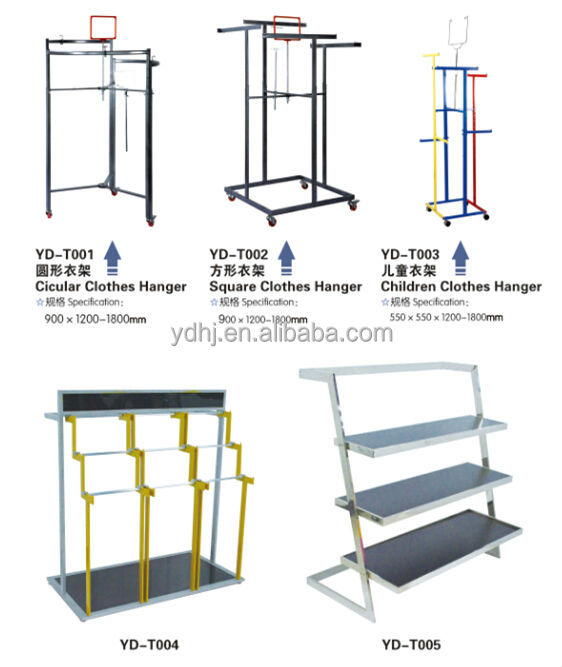 Wholesale Folding Metal Clothes and Pants Hanger Display Stand