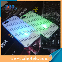 Sublimation LED mobile phone case for iPhone 5/5s