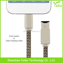 Yaika Multi-function OTG 4 in 1 mobile phone usb cable H0T usb data cable line