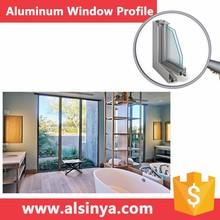 Seiko Quality aluminum sliding window track with different surface treatment