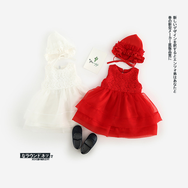 baby girls cotton white hats_Yuanwenjun.com