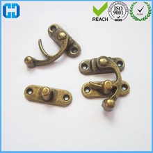 Wooden Box Metal Lock Latch Hook Buckle With Screw Directly From Factory