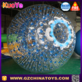 Commercial tpu and pvc adult race track zorb ball,inflatable zorbing ball for sale