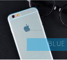 0.3mm Ultra-thin Transparent Frosted Hard Plastic PP Case For iPhone