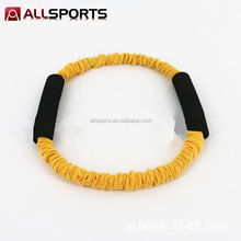 sports gym equipments O ring gymnastics and exercise resistance bands natural rubber fitness latex tube