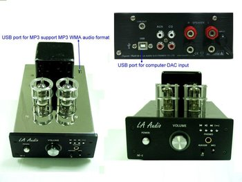 Vacuum Tube Amplifier With USB Port