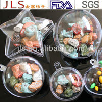 Heart Wholesales Plastic Candy Printed Box container