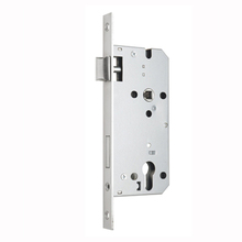 European house fire-rated mortise door lock with cylinder hole