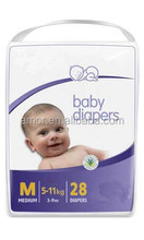 Top Quality OEM PE Film Back-sheet Disposable Baby Diapers for India Market