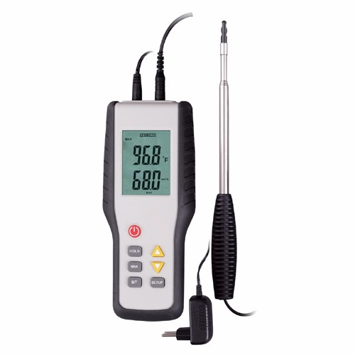 HT-9829 Best price air velocity meter digital hot wire wind speed anemometer