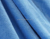 100% polyester textile fabric for sofa knitted plush velboa fabric flocked fabric