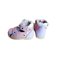 New arrival kids orthopedic leather shoes for babies