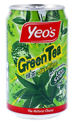 YEO'S GREEN TEA JASMINE DRINK CAN 300ML