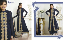 LT Fashion Colors Salwars Semi-stitched Suits