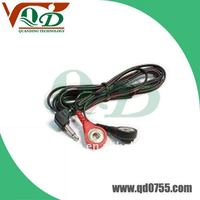 Conductive lead wire,Eye-button tens electrode cable