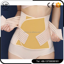 2017 hot sale Medical Elastic losing weight abdominal binder corset / postpartum belly band / abdominal belt