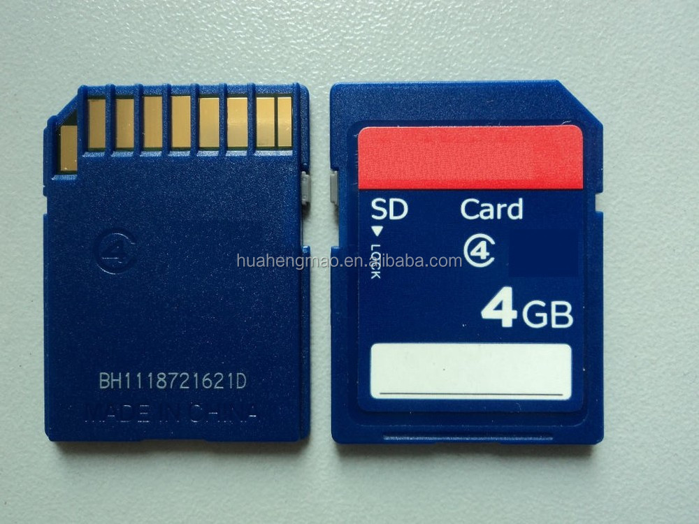 Shenzhen Factory supply 4GB Memory Card Cheap
