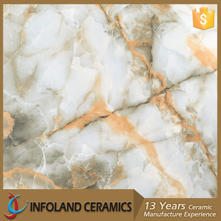 800X800 Ceramic Vinyl Rough Italian Marble Stone Look Flooring Tile