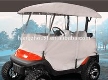 Hot selling golf cart full cover universal /golf cart full cover 4 person with low price with free samples