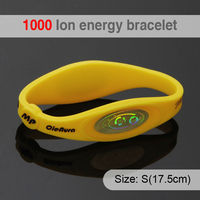 1000 ion Bio Elements Energy Fitness Sports Sports Wholesale Price Silicone Bracelet