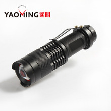 Mini LED Flashlight ZOOM 5W 2000LM Waterproof Lanterna LED 3 Modes Zoomable Torch AA 14500 battery Flashlight Linterna led