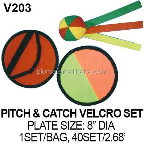 PITCH & CATCH VELCRO SET