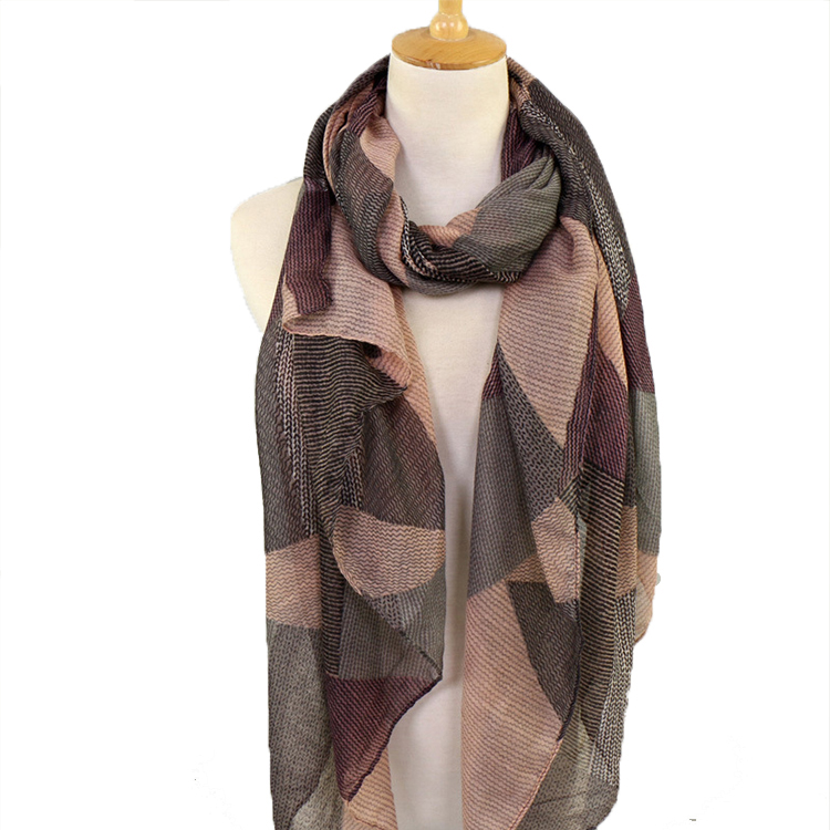 Latest Cotton Printed CustomDesign Scarf Shawl for Lady