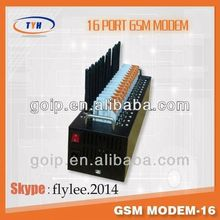 16 port GSM MODEM / SMS to send bulk sms/asterisk gsm fxo fxs pci card