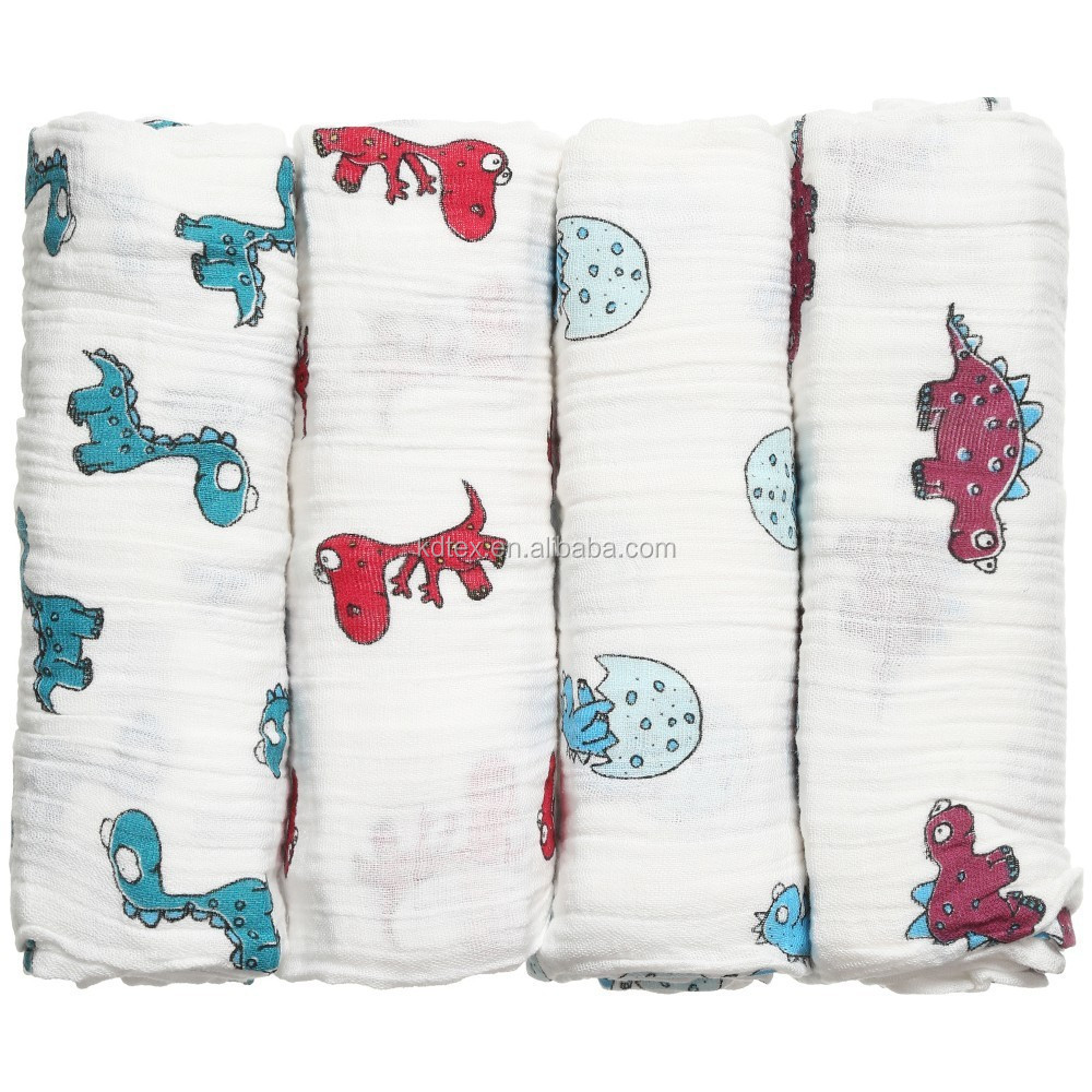 "100% Cotton Animal Shaped Blanket Super Soft 47""x47"" After Washed"