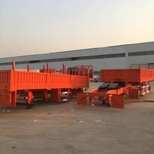 Used Flatbed Container Semi Trailers For Sale Flatbed Semi Trailer