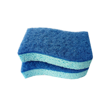 Eco-freindly Heavy Duty Washing Dishes Scrubber Non Scratch Cellulose Scrub Sponge
