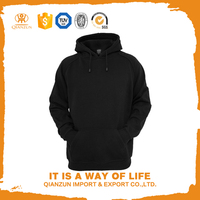 Wholesale alibaba black cotton blank high quality hoodies wholesale