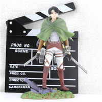 Attack on Titan Shingeki no Kyojin Eren Jaeger Figma Boxed PVC Action Figure Model Toy Gift brinquedos