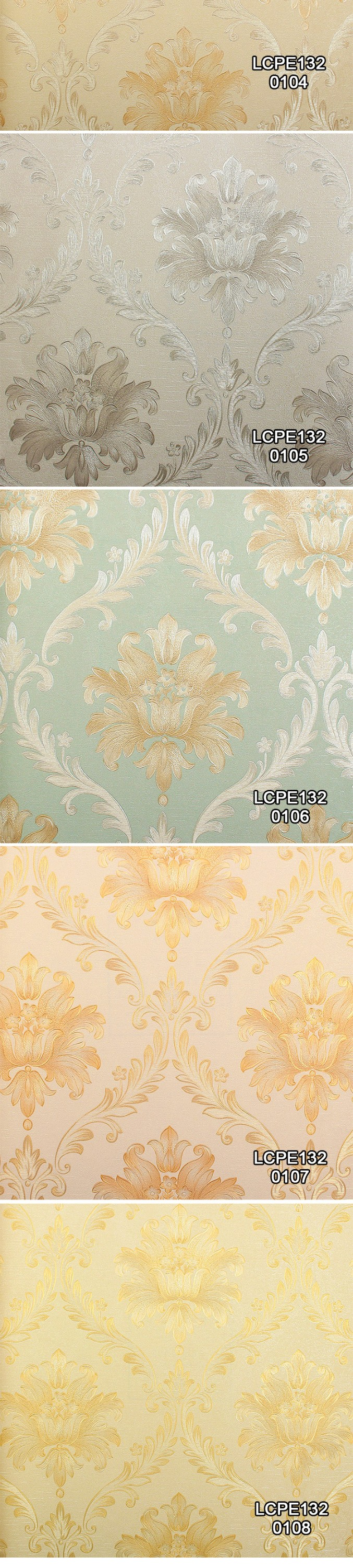 double curling lines circle design waterproof china wallpaper