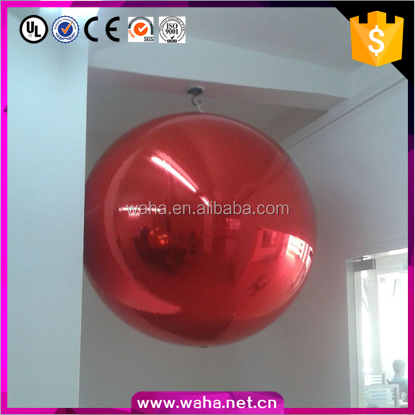 Unique design factory price custom mirror ball inflatable