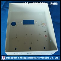 China custom Power box stamping fabrication metal case