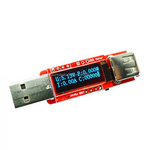 Factory Directly OLED Digigtal Mobile USB Power Capacity Meter With Memory Function