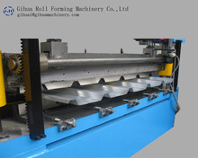 Fast delivery coil nail making machine coated glazed roofing sheet machines clod metal roof double layer roll forming machinery