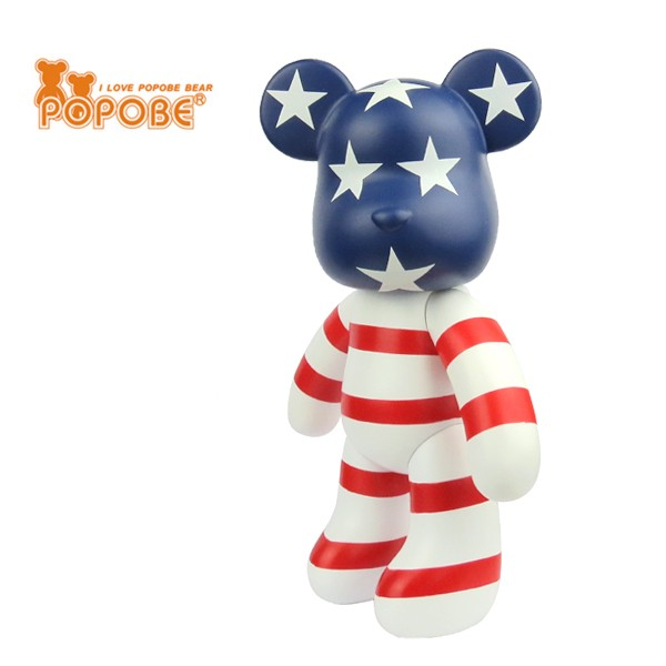 Bear Toy Decoration Home Promotion Gift Plastic Bear Birthday Gift Kids Toy