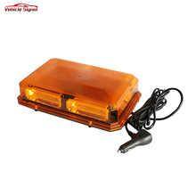 Wholesale Mini Led Light High Quality Red Led Emergency Mini Light bar Magnetic Police Strobe Warning Led Lightbar for Truck