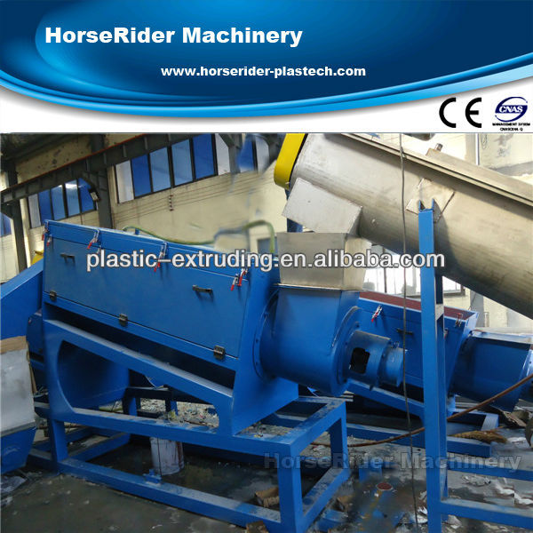 PP PE film cleaning plant/high output plastic PE PP film washing and recycling line/plastic bags recycling